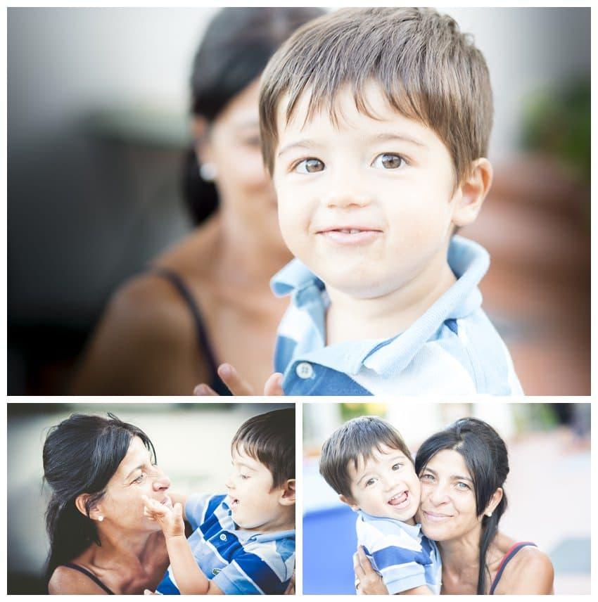 family photo sardinia