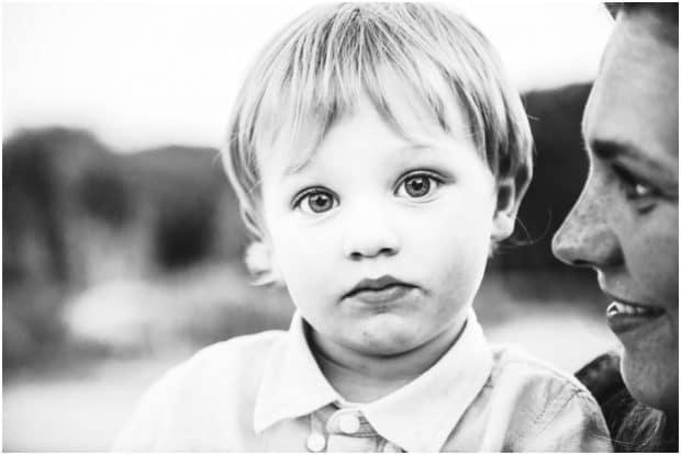 child photographer sardinia