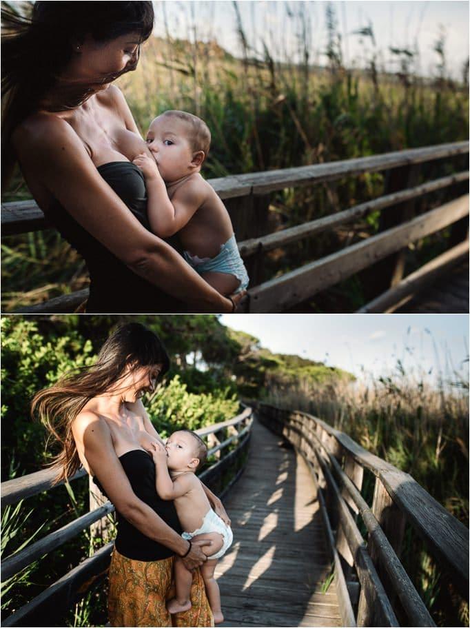 fotografia allattamento