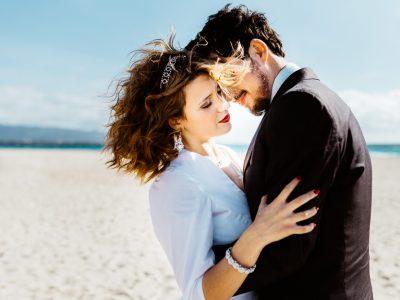 Foto matrimonio in spiaggia Sardegna