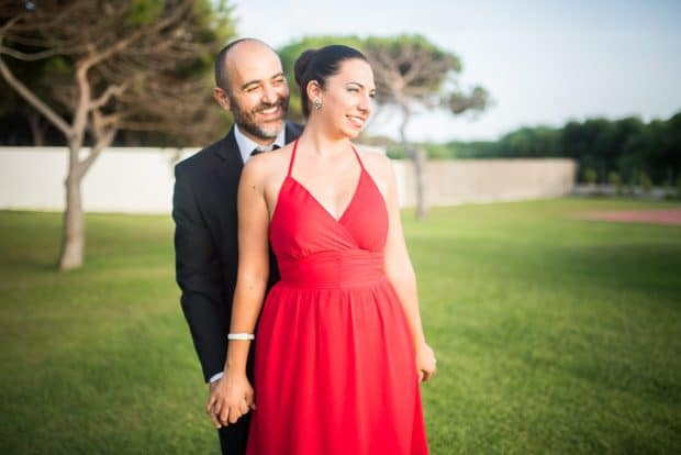 fotografia di coppia corterosadafotografia di coppia corterosada