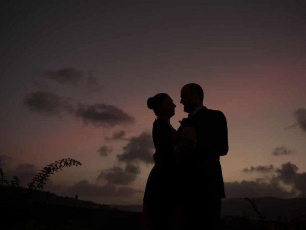 fotografia di coppia corterosada