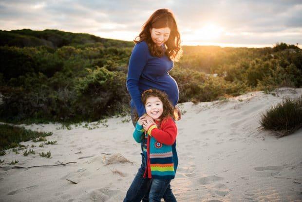 FOTO Maternità famiglia