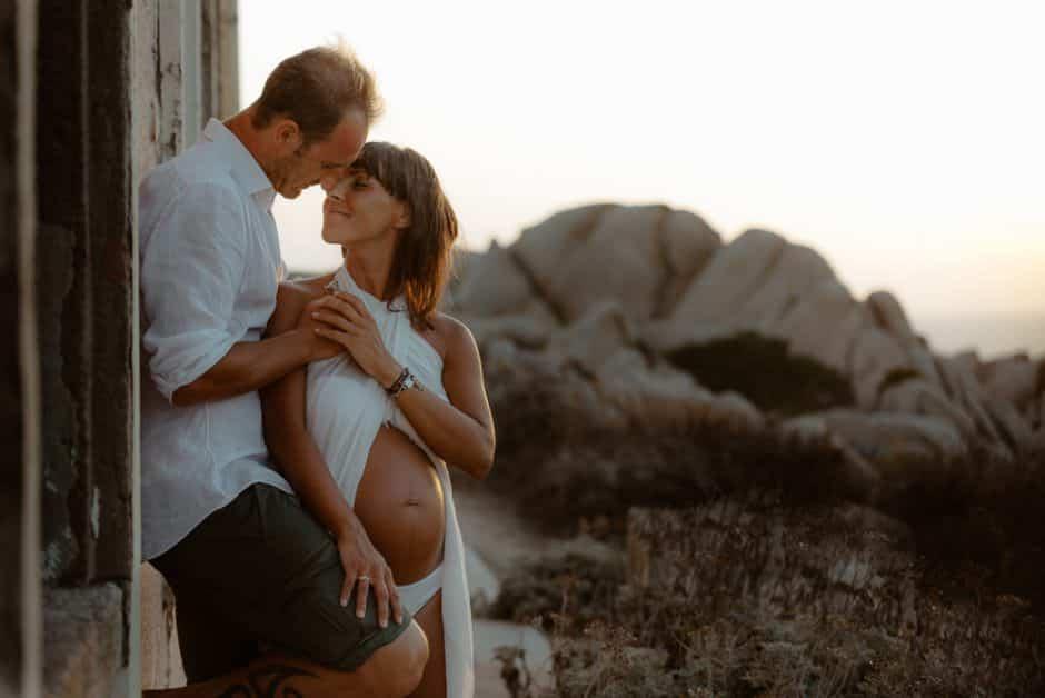 Servizio fotografico incinta. Sardegna