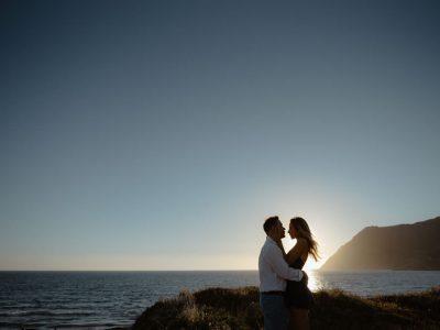 Engagement a Porto Ferro, alghero