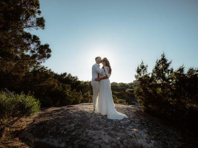 Matrimonio sulla spiaggia. Baja Sardinia