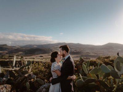 Matrimonio a Castelsardo in autunno
