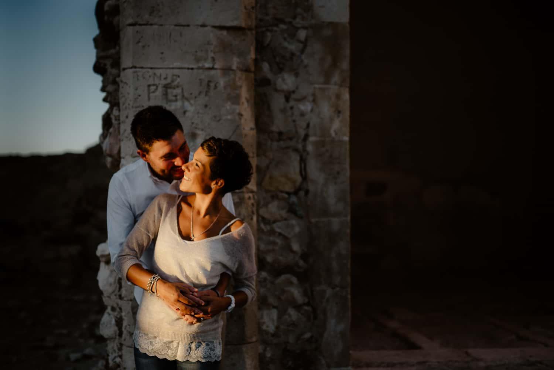 foto di coppia castello sassari