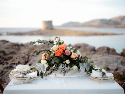 Matrimonio stintino la Pelosa, sulla spiaggia.