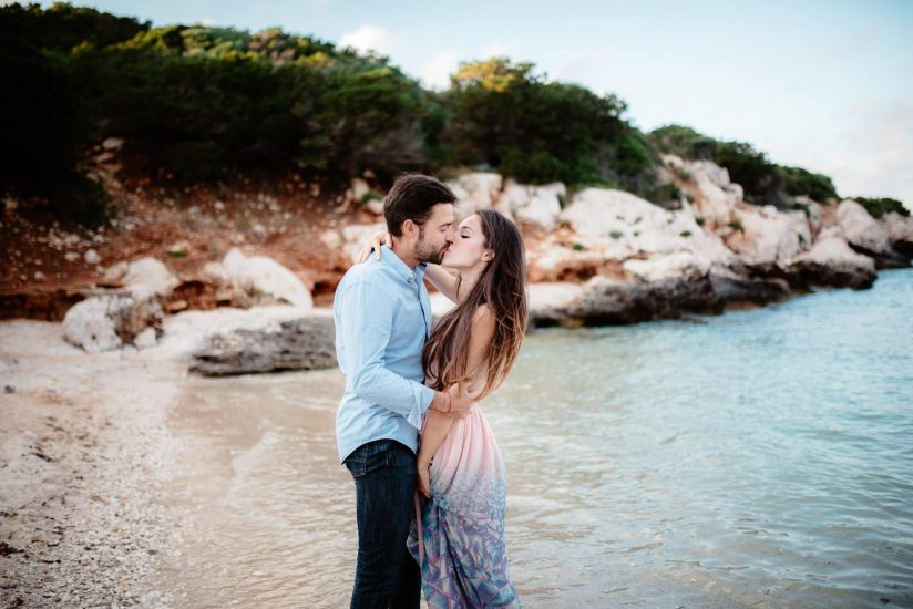 Sardinia Photographer engagement