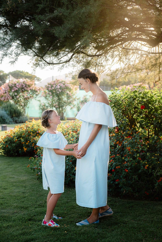 Fotografia di famiglia Chia, Sardegna