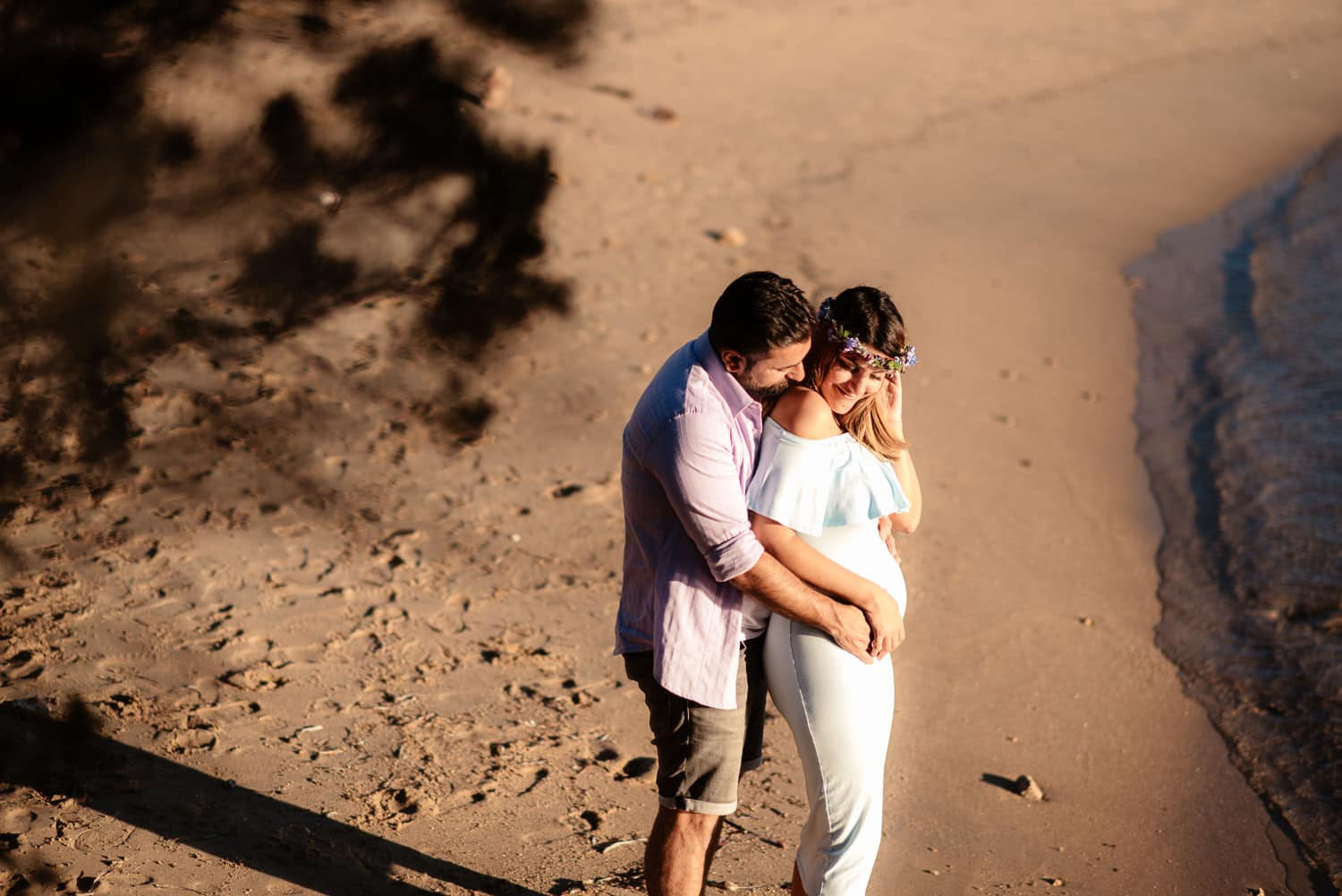 Olbia, Costa Smeralda, maternity photos