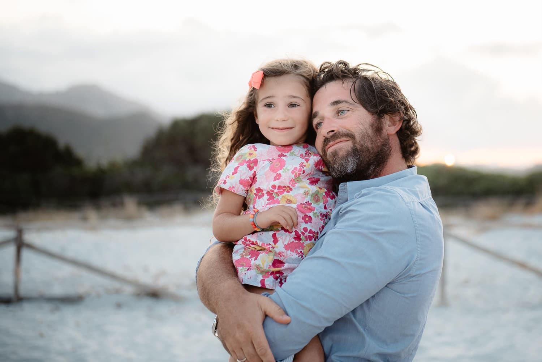 Fotografia di famiglia in vacanza, San teodoro, Olbia