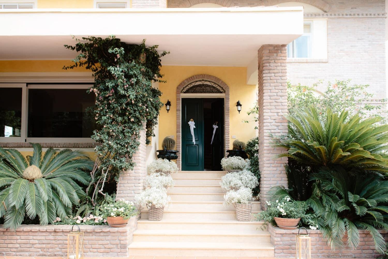 Fotografo matrimonio Sardegna in casa privata