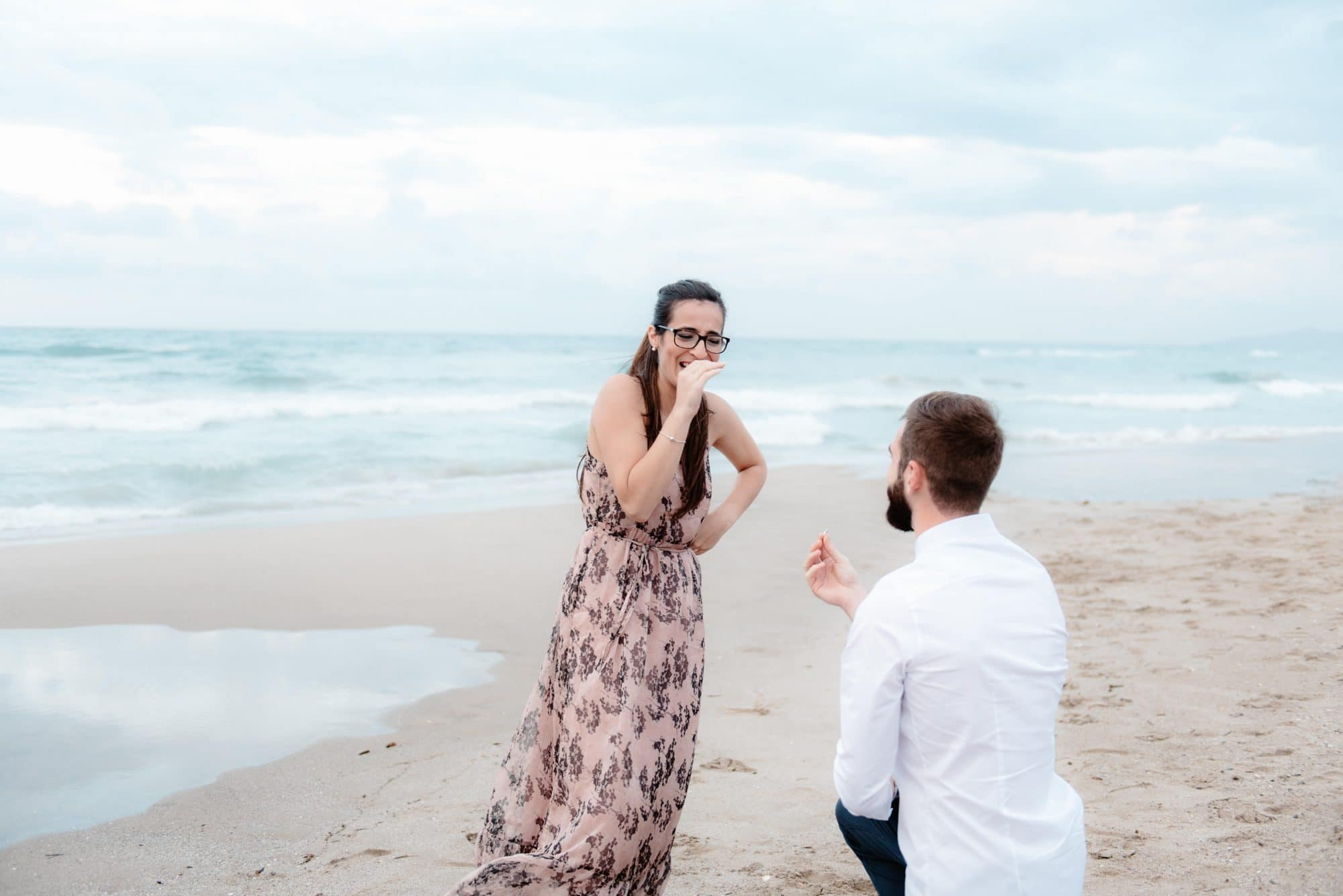 wedding proposal sardinia
