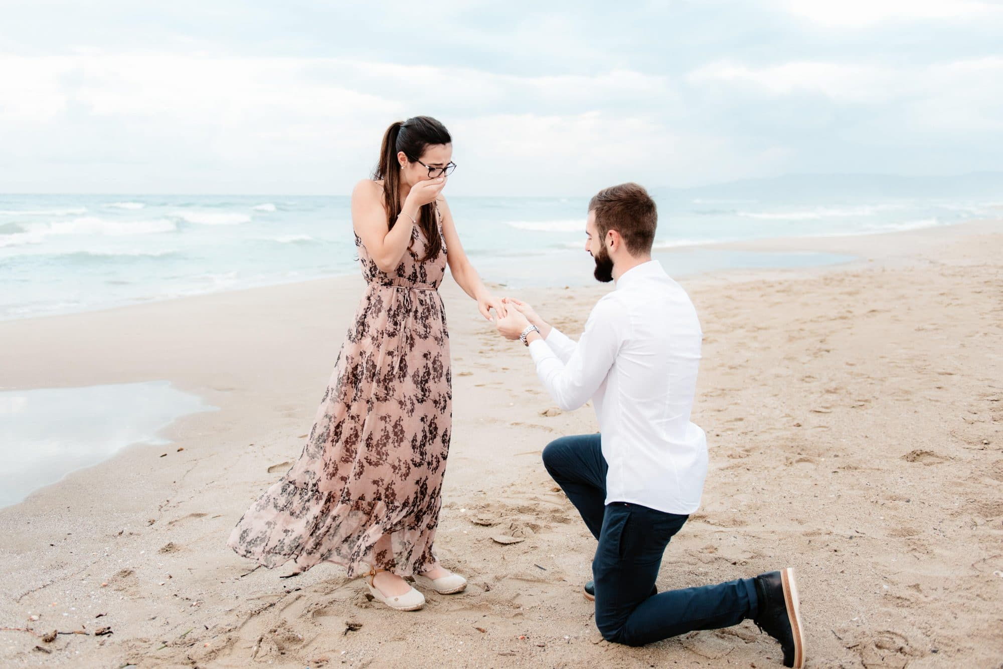Wedding proposal photographer Sardinia