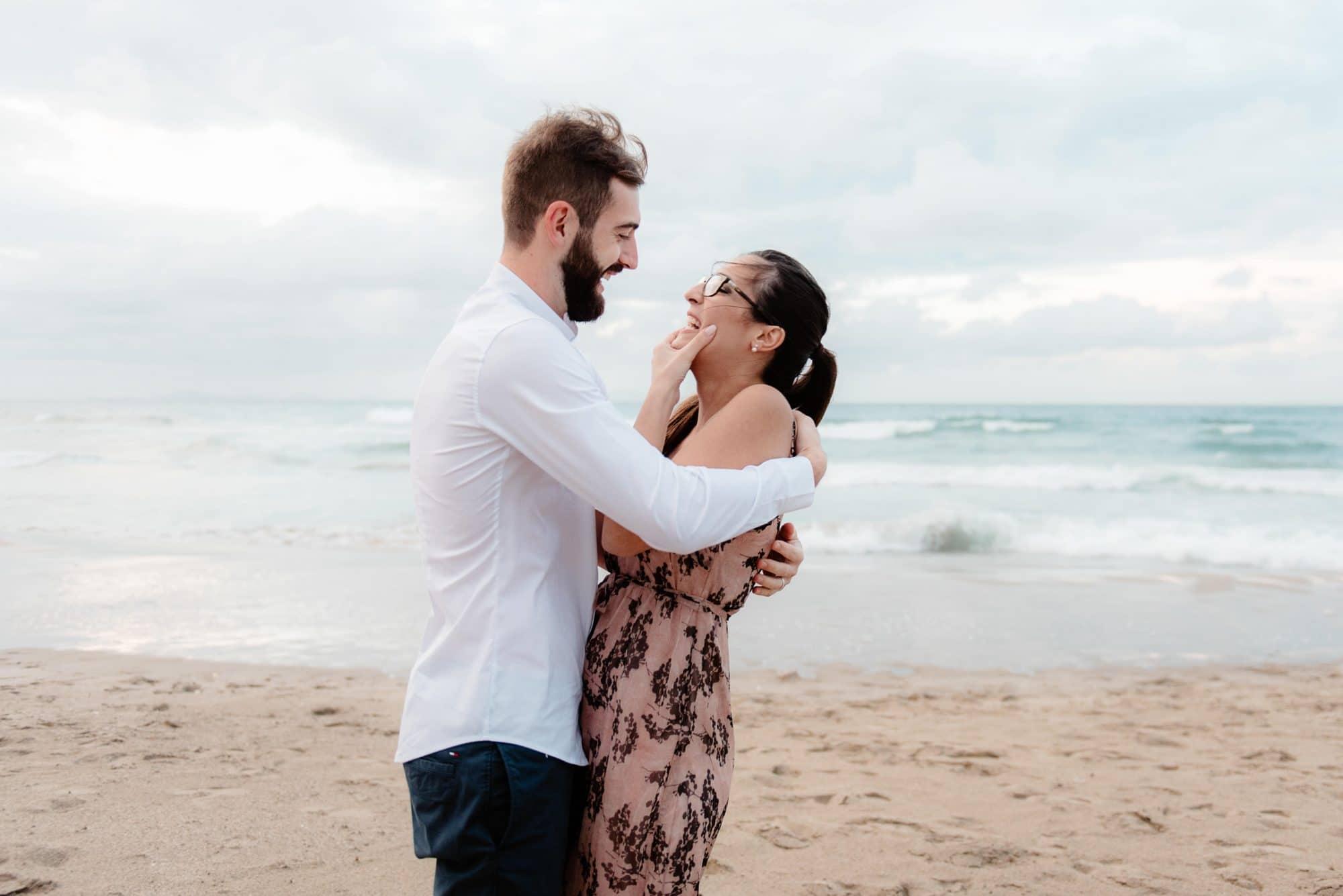 wedding proposal sardinia