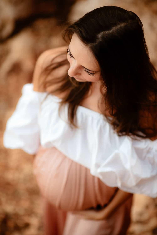 Maternity photography Nord Sardinia