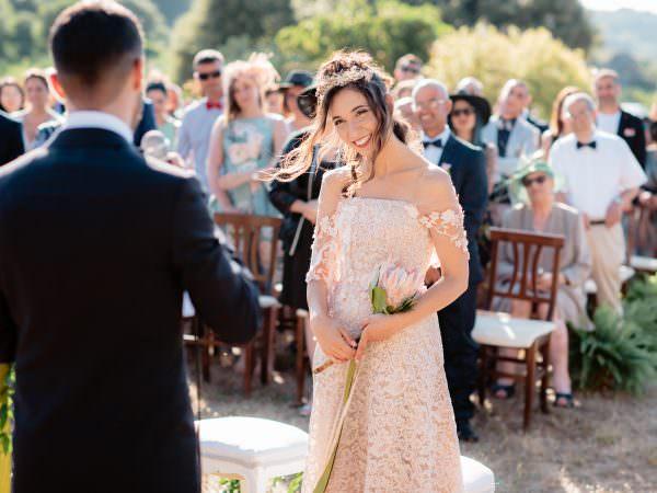 matrimonio all'aperto a castelsardo