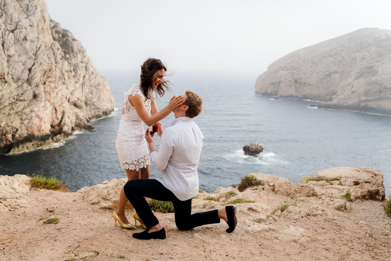 wedding proposal capo caccia