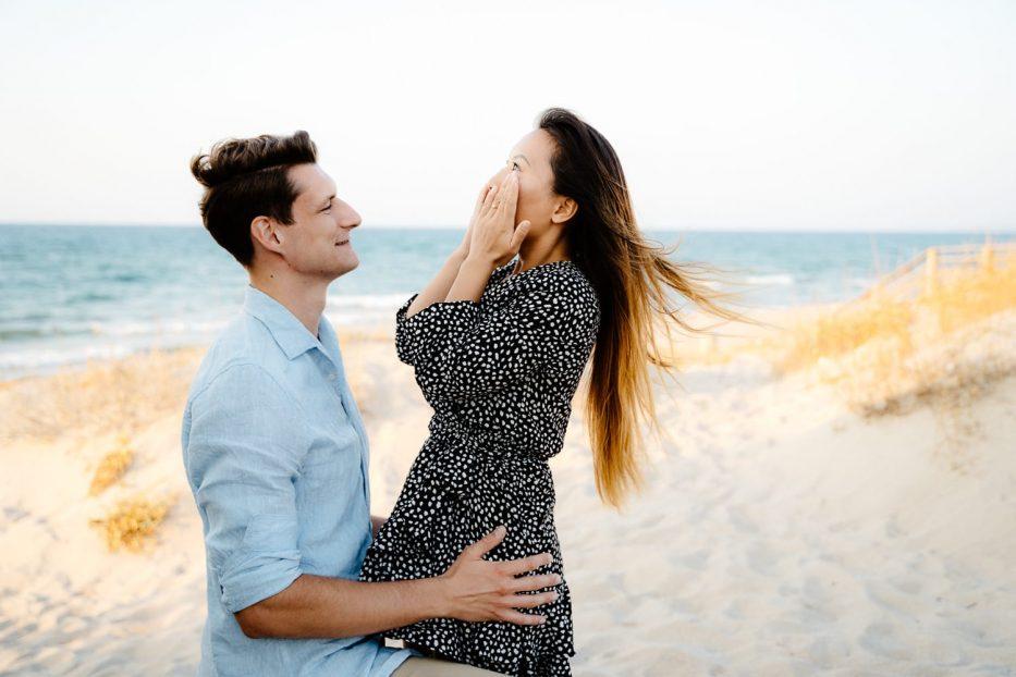 fotografo di matrimonio Sardegna, sul mare