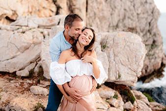 fotografo gravidanzaalghero coppia