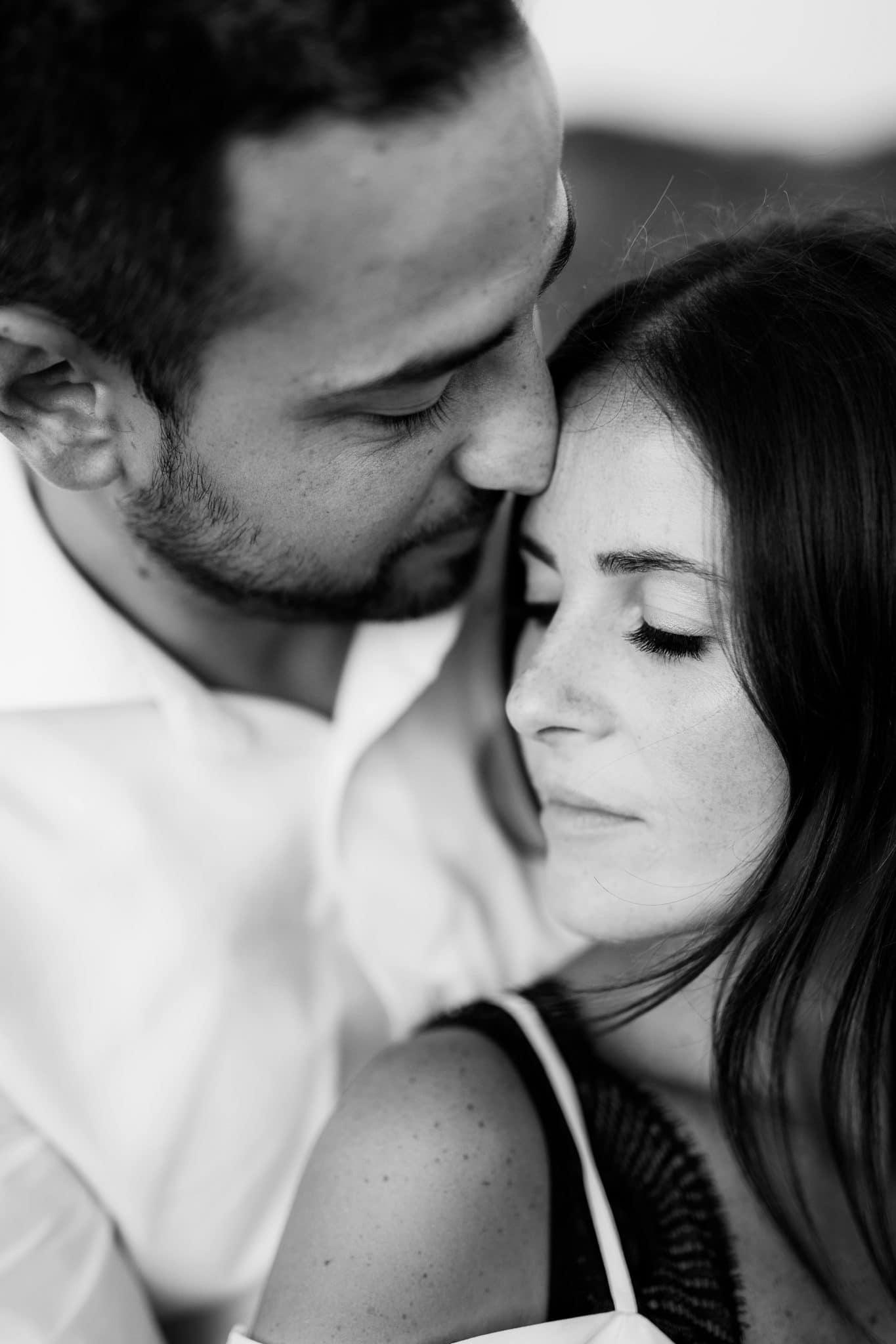 foto fidanzamento alghero bianco nero