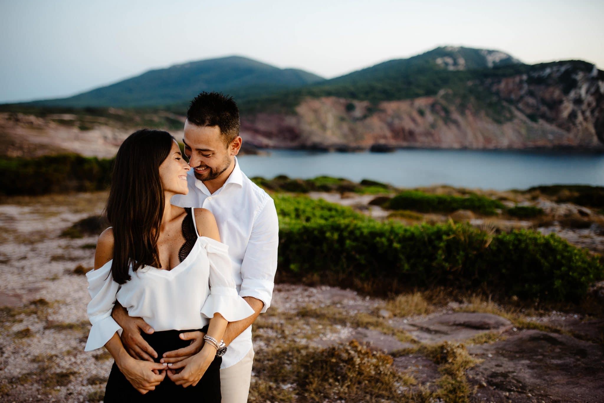 foto fidanzamento alghero