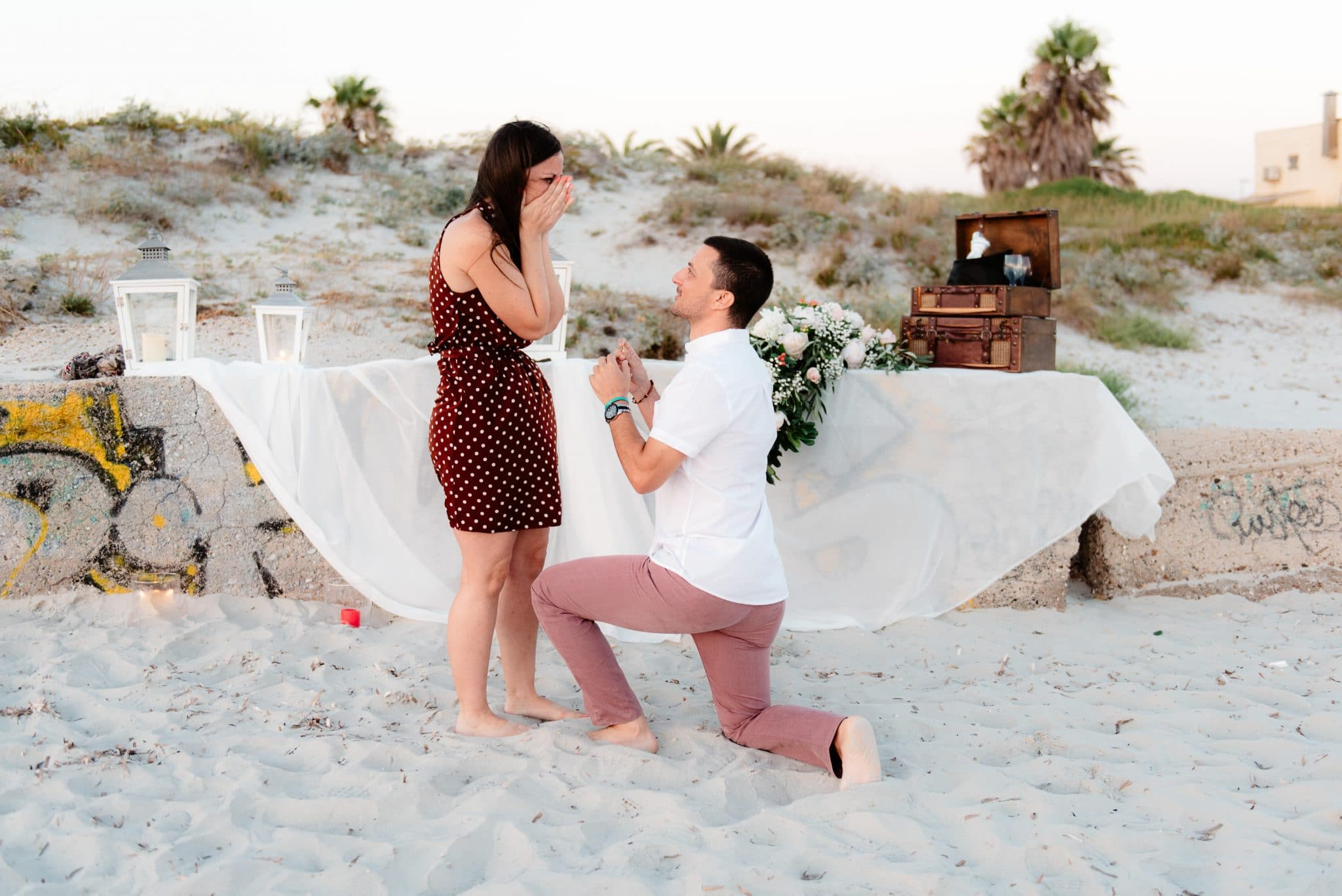 wedding proposal Oristano