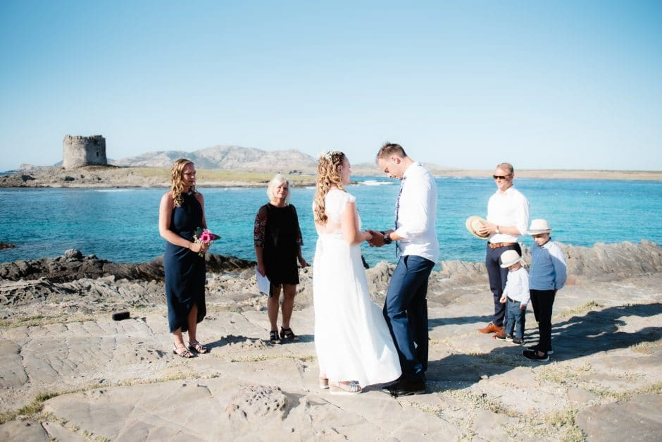 elopement wedding Stintino