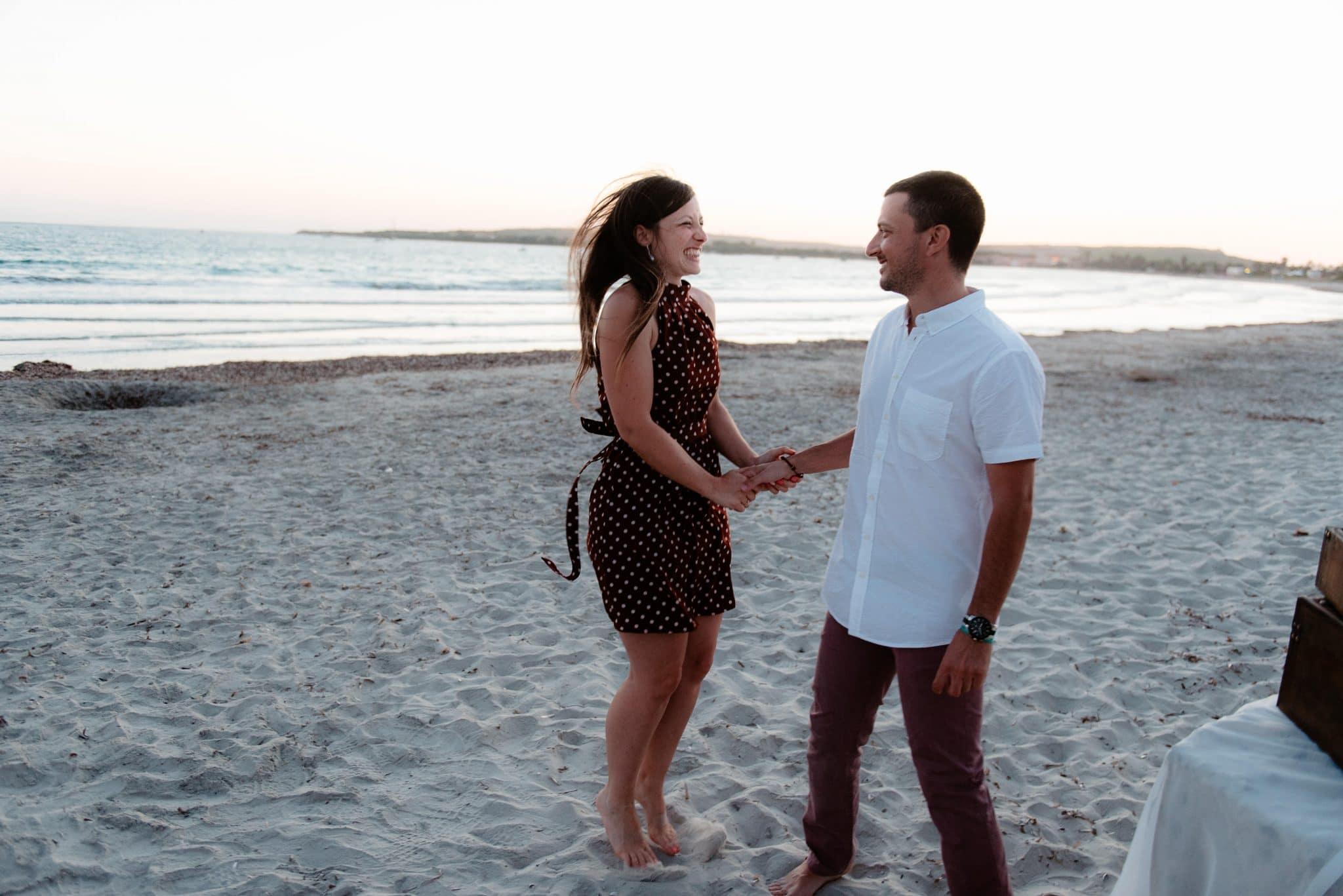 wedding proposal Oristano, sardinia