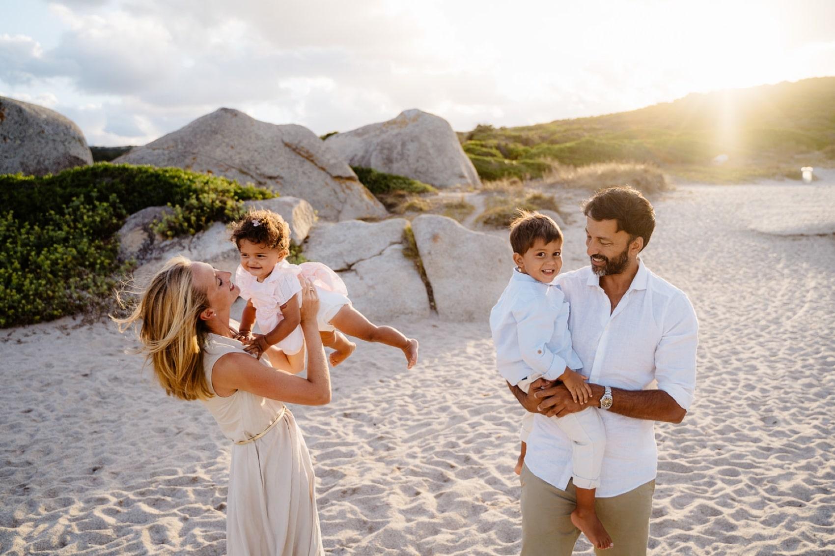 Valle dell'Erica foto famiglia, Sardegna