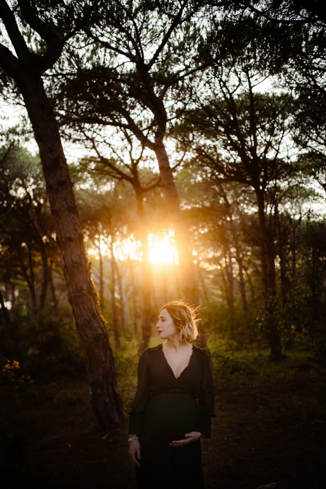 Foto di gravidanza Autunno Sassari