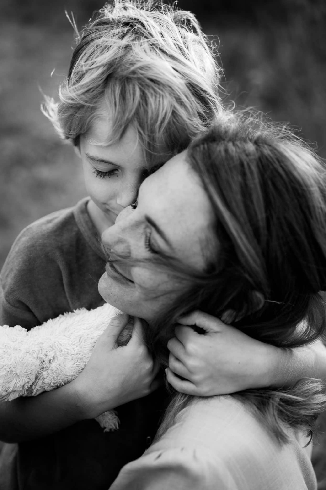 mam and son sardinia photo