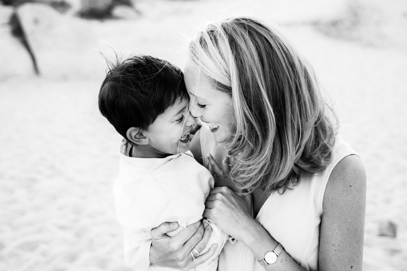 mom and daughter sardinia photo