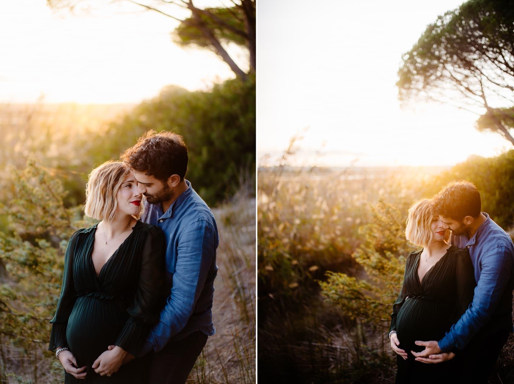 fotografo maternità autunno Sardegna