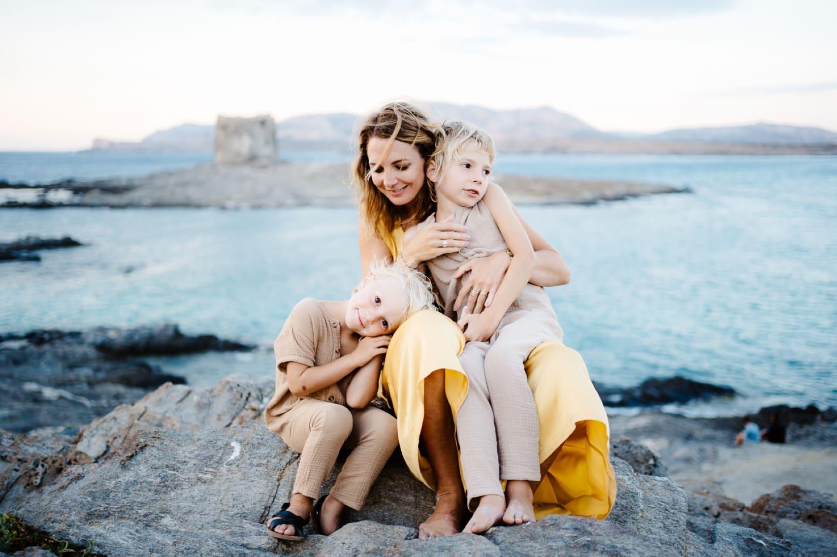 family photos Stintino valeria mameli