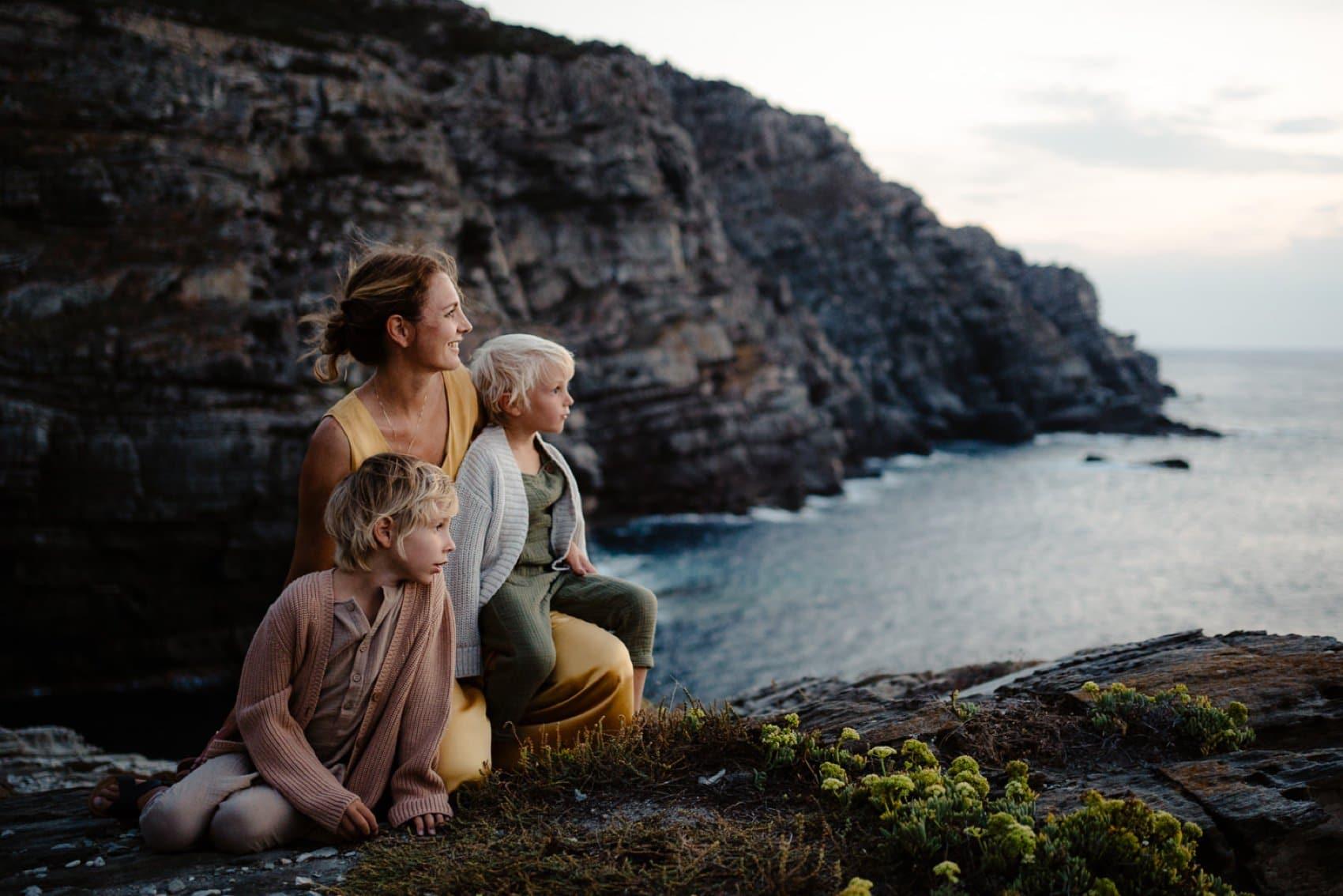 foto famiglia a Stintino