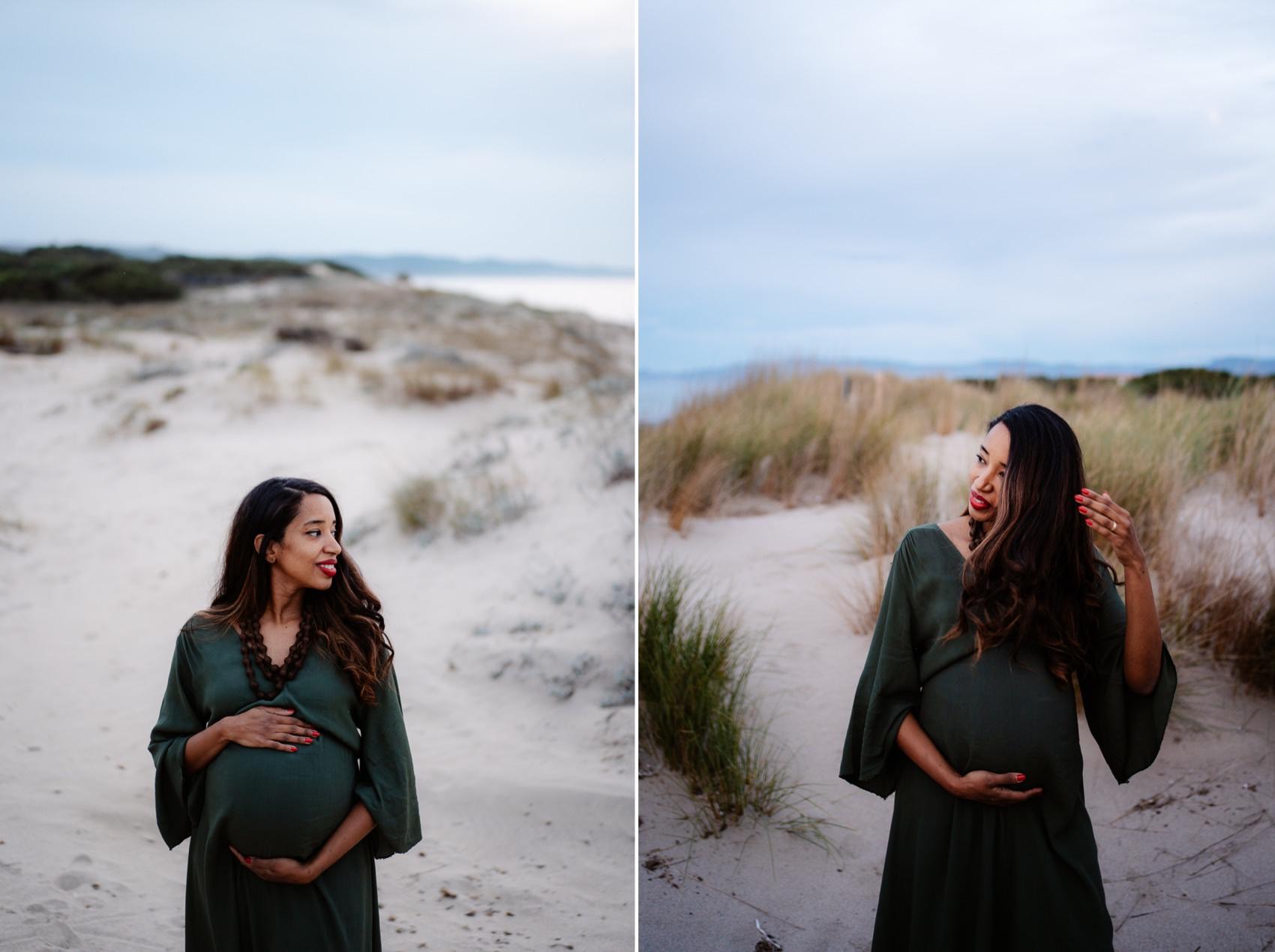 Fotografia gravidanza con bambini Sassari