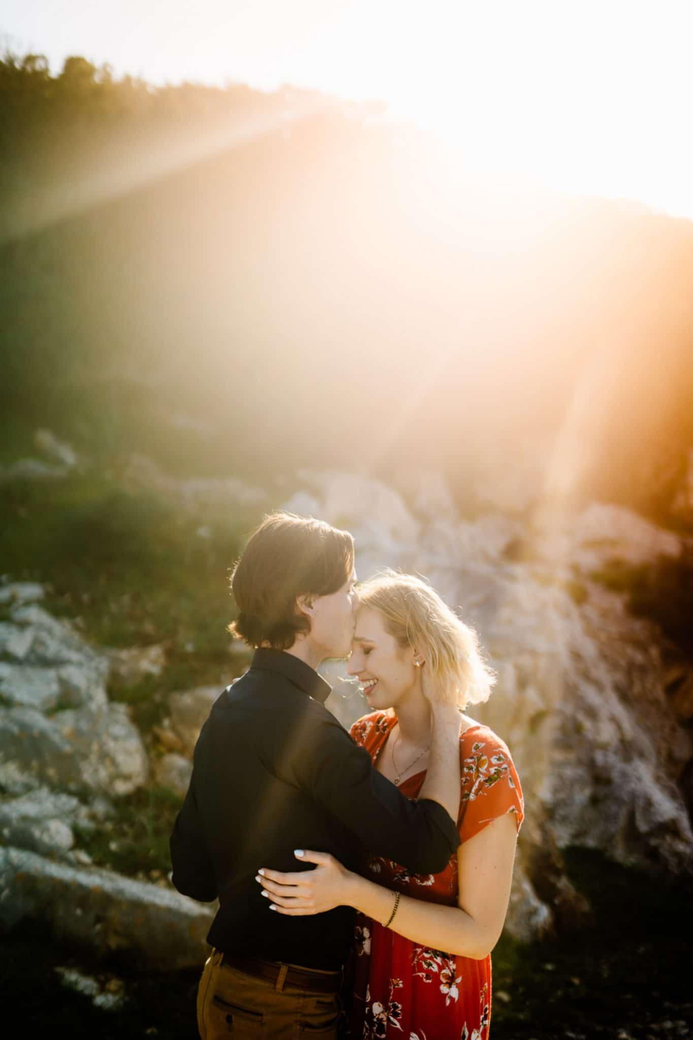 amazing wedding proposal sardinia