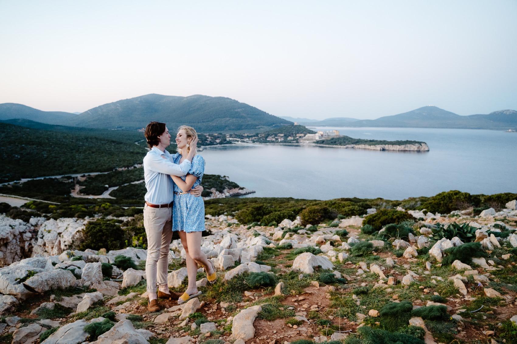 alghero wedding proposal photographer